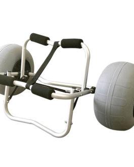 Carrito para kayak – ruedas anchas para arena