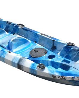 Kayak Doble Blaze 12 T. Con remos y asientos