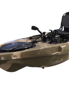 Kayak de pesca Hammerhead 11 con pedales