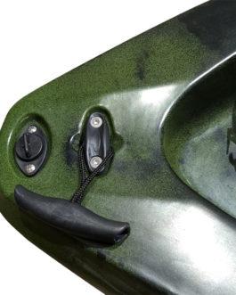 Kayak de pesca Skipjack 10, con remo y asiento