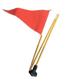Banderín de señalización para kayaks