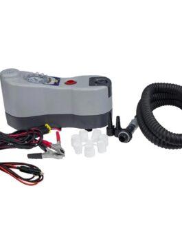 Inflador eléctrico portátil