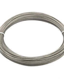 Cable de acero inoxidable 1.5mm para uso marino