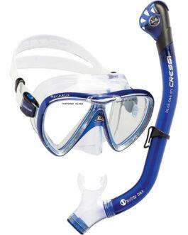 Set de máscara Ikarus y snorkel Orion Dry