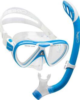 Set de máscara Pegaso y Snorkel Iguana para chicos