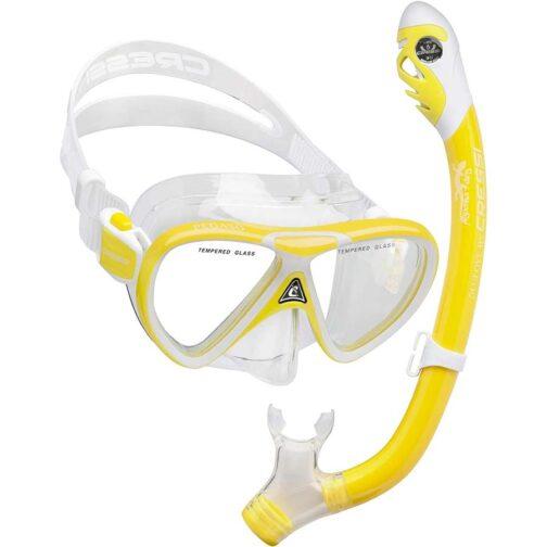 Máscara Pegaso y Snorkel Iguana Dry